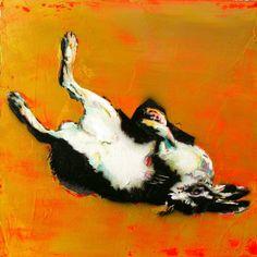 "Saatchi Art Artist Corinne Rangod; Painting, ""still life with rabbit"" US$450"