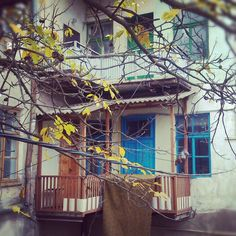 Autumn in Buchach town, Western Ukraine