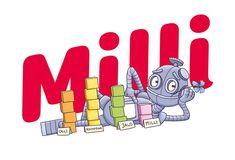 Milli-sarjan kanssa matematiikan opettaminen on entistä palkitsevampaa. Poimi täältä Milli-sarjan vinkit opetukseesi. Robot, Peace, Robots, Room