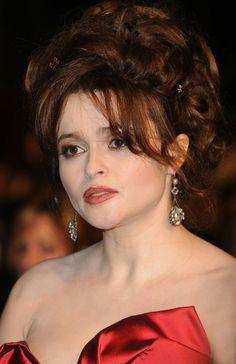 Helena Carter, Helena Bonham Carter, Belatrix Lestrange, Helen Bonham, Bellatrix, Queen, Celebs, Celebrities, Powerful Women