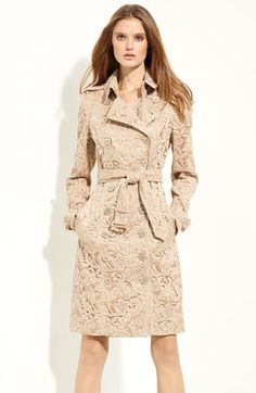 Burberry London Lace Trench | Nordstrom