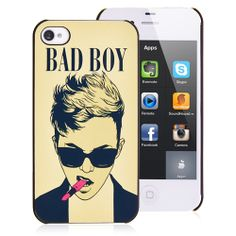 Justin Bieber iPhone 4 Case Famous Celebrity Fluorescent Back Cover #justinbieber #iphonecase #apple #cellz #celebrity