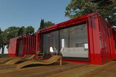h-kub. Casas prefabricadas en contenedores marítimos