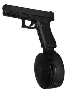50 Round Drum Magazine for Glock 17