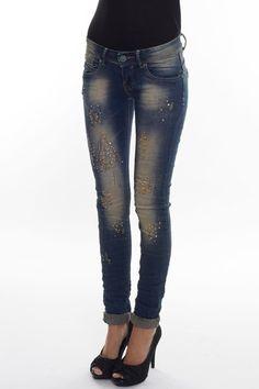 JOANNA JEANS Slim fit vintage jeans.