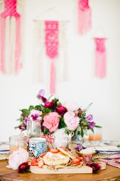 Valentine's Day Brunch at Home | Style Me Pretty Living | Bloglovin'