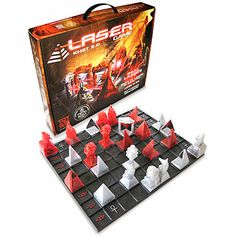 Khet 2.0 combines the simplicity of checkers and the strategy of chess. Unlike any other strategy game.