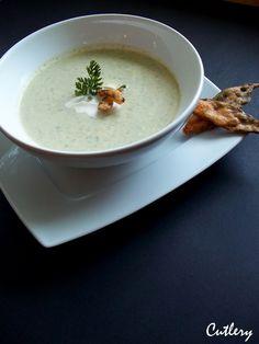 Cutlery foodblog: Krémová cuketová polievka