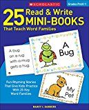 25 Read Write Mini-Books: That Teach Word Families Nancy I Sanders Teach students to write and read their way to success. This collection of adorable mini storybooks provides practice reading and writing words from 25 different word families. Phonics Reading, Kindergarten Reading, Reading Comprehension, Preschool Literacy, Reading Resources, Reading Activities, Reading Skills, School Resources, Primary Resources
