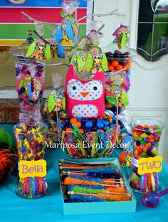 Owls Birthday Party Ideas   Photo 1 of 22   Catch My Party