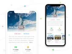 Travel app concept designed by Kushal Panchal. Connect with them on Dribbble; Ios 7 Design, Mobile Ui Design, Dashboard Design, Print Design, Travel Guide App, Interactive Design, Interactive Media, App Design Inspiration, User Experience Design