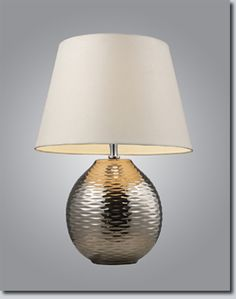 Elemis Contemporary Table Lamp - Available at GrandLight.com