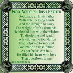 fathers day ireland