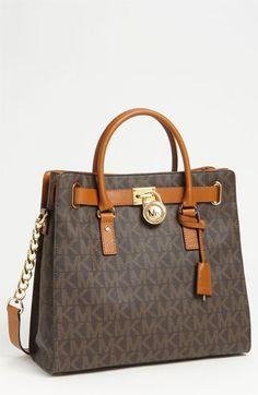 my new handbag! So excited!  MICHAEL Michael Kors 'Signature Hamilton - Large' Tote available at #Nordstrom