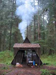 Small A Frame Cabin That Looks Like A Tent
