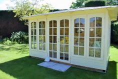 "Graham purchased the Valiant 350 #Summerhouse from us and this is what he's had to say, ""Our lovely 'home from home'. Our best buy for many a year. We now view the garden from another angle while putting our feet up and reading the paper. Heaven!""  http://dunsterhouse.co.uk/log-cabins/valiant-350-summerhouse"