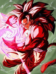Dragon Ball Z, Goku All Forms, Sword Art Online, Super Saiyan 4 Goku, Goku Drawing, Anime Shows, Poses, Anime Art, Artwork