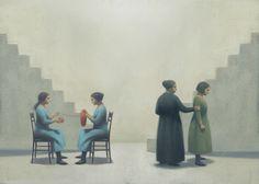 Gianni De Conno / Marlena Agency Italian Painters, Italian Artist, Serge Bloch, Institute Of Design, Communication Art, Arts Award, Book Illustration, Childrens Books, Illustrators