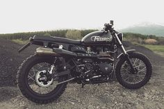 Another Scrambler for the list. Triumph makes a great looking bike that gets even better when customized.