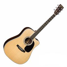 Martin DC-35E Standard Series Acoustic-Electric Guitar with Case