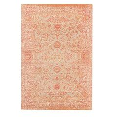 X Stormy Oasis Oatmeal White Peach And C Orange Hand Loomed Wool Area Throw Rug 32212691