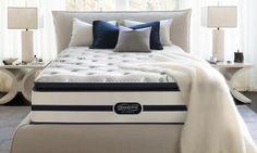 Sigh Queen Hot Simmons Beautyrest Recharge Plush Pillowtop Mattress Set