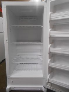 Appliance City -  Frigidaire 14 Cubic Foot  total volume Frost free 3 wire shelves 5 adjustable door retainers Easy set electronics 1-7 freezer's activity Door ajar alarm  High temp alarm  will let you know when your freezer has reached a temperature above 23 degrees, $300.00 ...