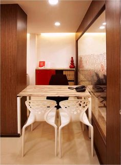 Bhas Direct office interiors, Hebbal, Bangalore -SAVIO and RUPA Interior Concepts Bangalore Residential Interior Design, Interior Design Companies, Modern Interior, Interior Concept, Office Interiors, Designers, Table, Furniture, Home Decor