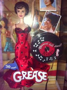 Rizzo (Stockard Channing) of Grease Dance-Off Pink Label Barbie Collector Series Doll by Mattel, 2008