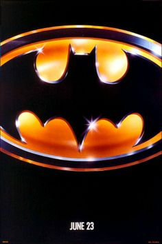 Batman. Absolutely still prefer the Nolan era, but this movie poster of Tim Burton's version is just so iconic.
