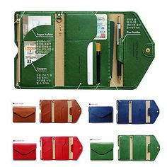 Journey crédito ID Card Case Porta Pasaporte Viaje Bolso Organizador Monedero Billetera