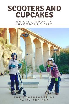 An alternative way to see some hidden gems of Luxembourg City with kids.