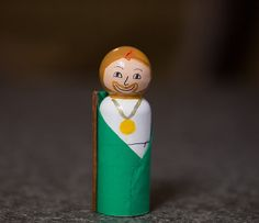 St. Jude Peg Doll by PlayingWithGrace on Etsy