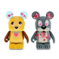 Vinylmation Valentine's Day 3'' Set - Lady and the Tramp