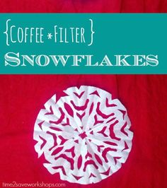 Coffee Filter Snowfl