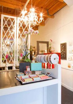 Willow and Bloom - flower shop interior                              …