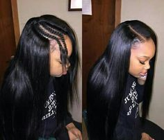 Sew In Hair Styles Custom The Best Raw Human Hair Extensions Online Visit Our Websitewww