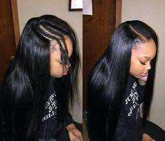Sew In Hairstyles Best Httpswwwyoutubecqueenkeema  Hair Slayed  Pinterest