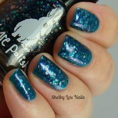 Shelby Lou Nails - Hump Day HARE - Hare Polish - Mermaid Sighting in the GBR - Without Flash