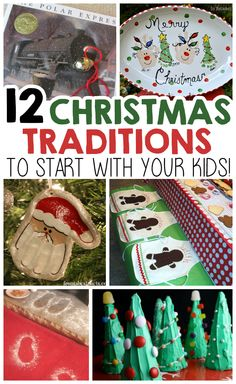 12 Christmas Traditions To Start With Your Kids! traditions 12 Christmas Traditions To Start With Your Kids - I Heart Arts n Crafts Christmas Traditions Kids, Christmas Activities, Diy Christmas Gifts, Holiday Crafts, Holiday Fun, Winter Holiday, Christmas Eve Box Ideas Kids, Homemade Christmas, Christmas Projects