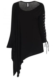 cool Nyx Asymmetric Top by http://www.polyvorebydana.us/gothic-fashion/nyx-asymmetric-top/