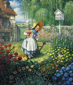 Mary Mary Quite Contrary-Scott Gustafson (American)