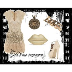 Old time romance..., created by ash-burns on Polyvore