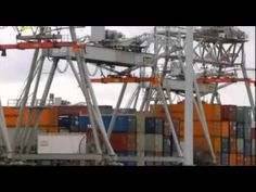 National Geographic Megastructures Port Of Rotterdam Container Terminal, Rotterdam, National Geographic, Documentaries, Architecture, World, Youtube, Travel, Movies