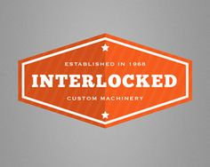 interlocked 70 Retro and Vintage Logos for Your Inspiration