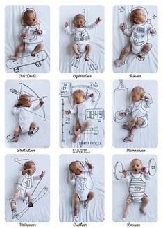 Del baby boom al foto ¡boom! Las fotos más originales desde el embarazo hasta el primer año del bebé.