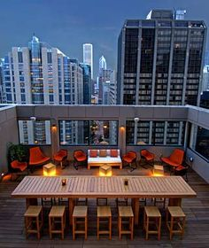 Affinia Hotel, Chicago - Rooftop Bar