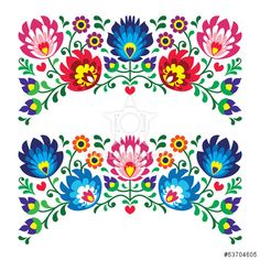 http://br.dollarphotoclub.com/stock-photo/Polish floral folk embroidery patterns for card/53704605 Dollar Photo Club milhões de imagens por US$ 1 cada
