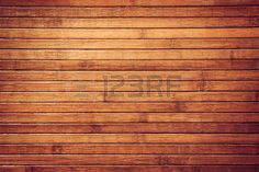 Horizontal retro brown bamboo tropical background. Obsolete texture