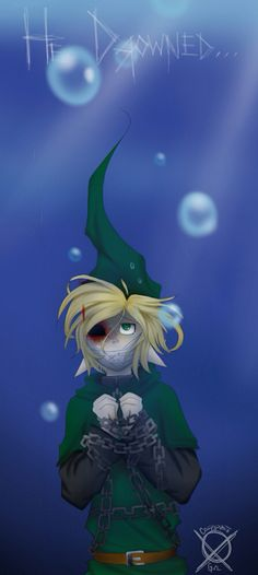 Ben_Drowned... He drowned. This pasta didn't scare me so bad as it just creeped me out. Dunno why...